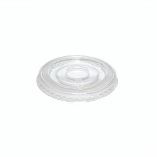 PET 2oz Kraft Portion Cup Flat Lid