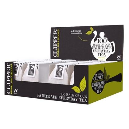 Clipper F/T Everyday Tea 6x100 String & Tag