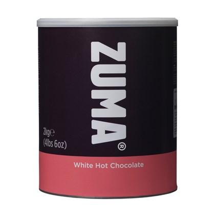 Zuma White Hot Chocolate Tin 2kg