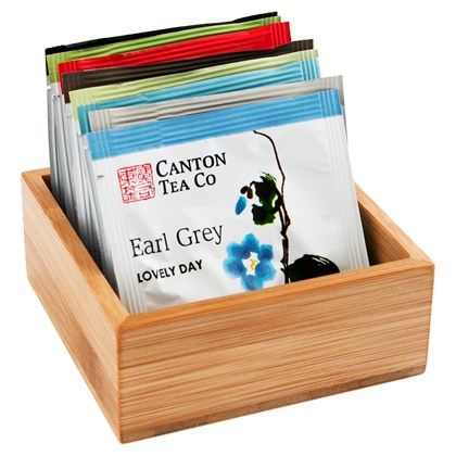 Canton Small Bamboo Presentation Box
