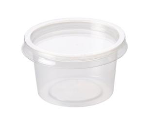 4oz Deli Pot Container & Lid 1000