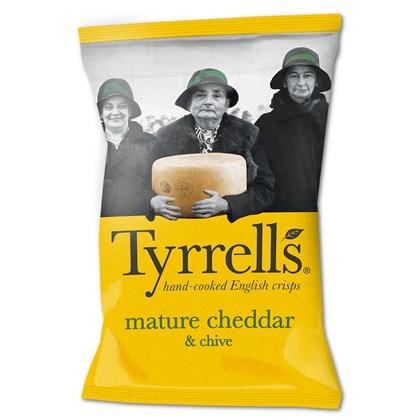 Tyrrells Mature Cheddar & Chive 40g
