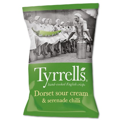 Tyrrells Dorset Sour Cream & Serenade Chilli 40g