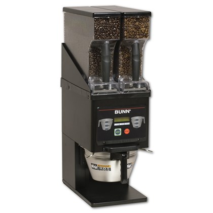 Bunn MHGA Black Multi-Hopper Coffee Grinder & Storage System
