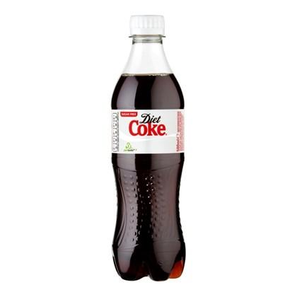 Diet Coke Bottles 500ml Qty 24
