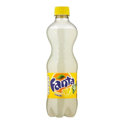 Fanta Lemon Bottles 500ml Qty 24