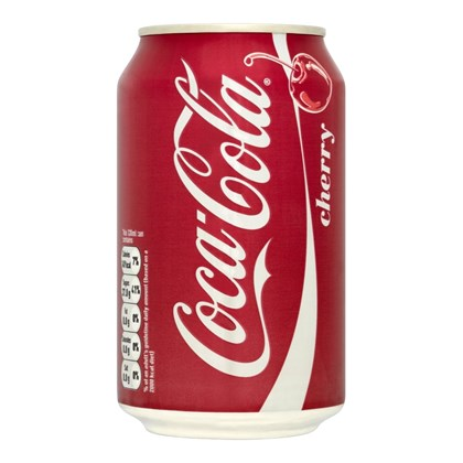 Cherry Coke Cans