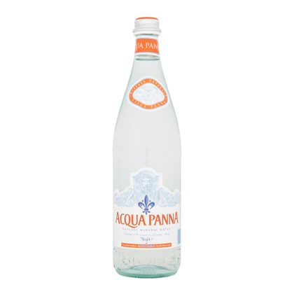 Aqua Panna  Still Water Glass Bottle Qty 750 ml