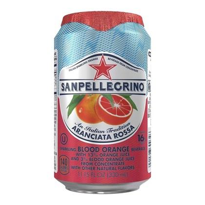 San Pellegrino Aranciata Rossa Cans