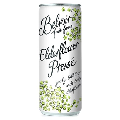 Belvoir Presse Elderflower Can 250ml