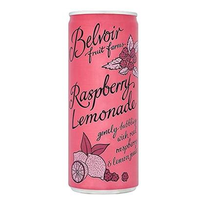 Belvoir Presse Raspberry Lemonade Can 250ml