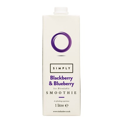 Blue/Blackberry Simply Smoothies