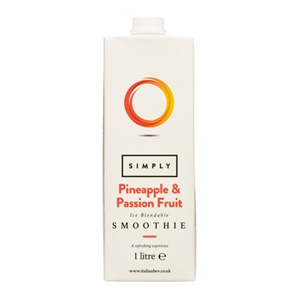 Pineapple & Passion Simply Smoothies