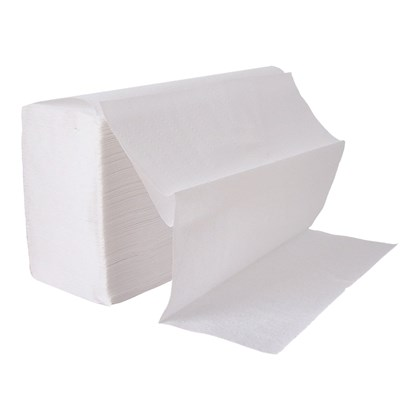 2ply White Interfold Hand Towel Qty 3000