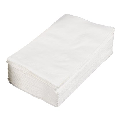 40cm 3ply Readifold White Napkin