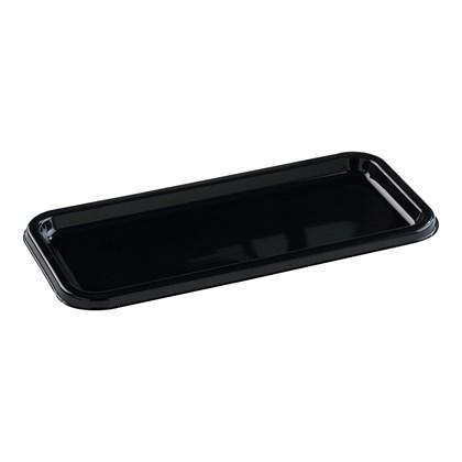 Small Rectangular Black Platter 35x16cm