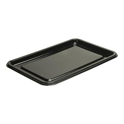 Medium Rectangular Black Platter 35x24cm
