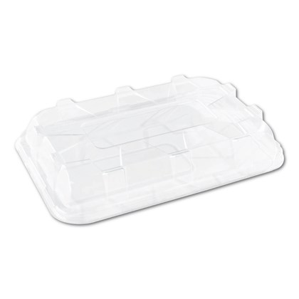 Medium Rectangular Clear Lid 35x24cm