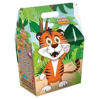 Children's Meal Boxes - Animal Print