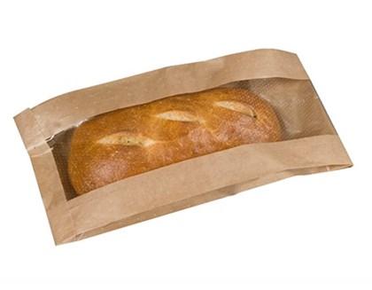 XL Artisan Kraft Window Bag