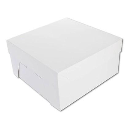 """6x6x4"""" White Cake Boxes Qty 250"""