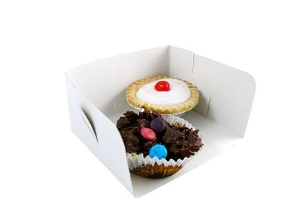 Small Swedish Open Cake Box