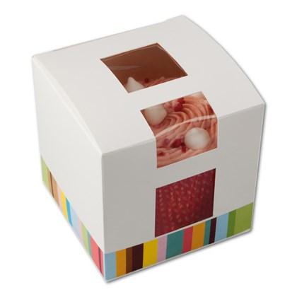 Single Cup Cake Box