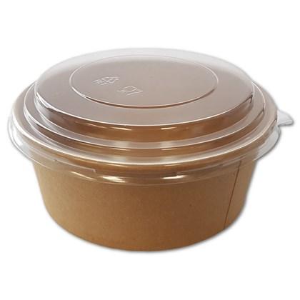 Clear Domed Lid for Kraft Fresh Salad Bowl 750ml