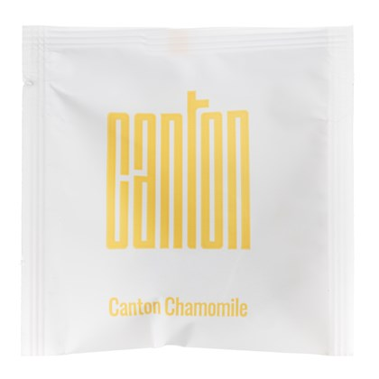 Canton Wrapped Organic Chamomile  Pyramind Teabags