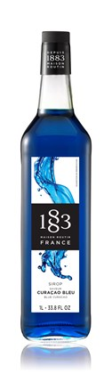 Routin 1883 Blue Curacao Syrup 1L
