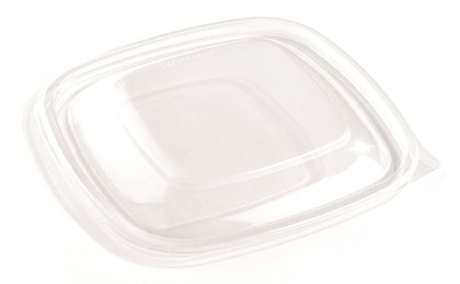 Square Flat Vented Lid
