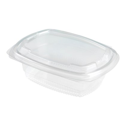 250cc Fresco Salad Hinged Container