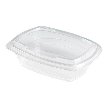 750cc Fresco Salad Hinged Container