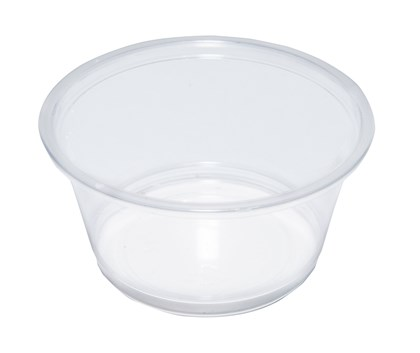 2oz Clear Plastic Souffle Pot