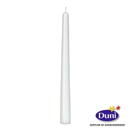 Antique Candles, Stearin White 250 x 22mm