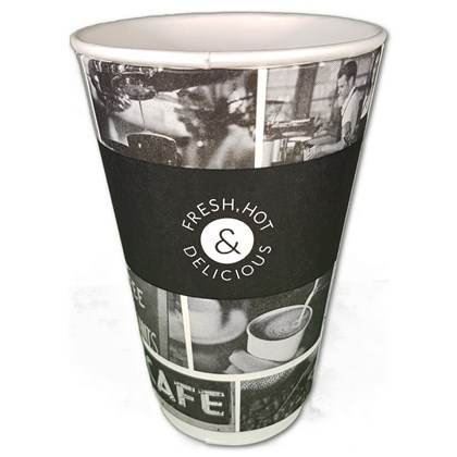 16oz Cafe Life Smooth Double Wall Cup