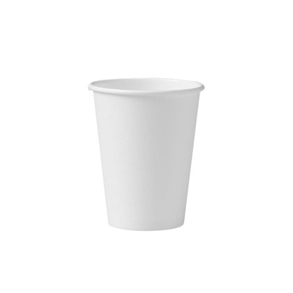 12oz White Single Wall Cups