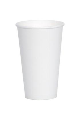 16oz White Single Wall Cups