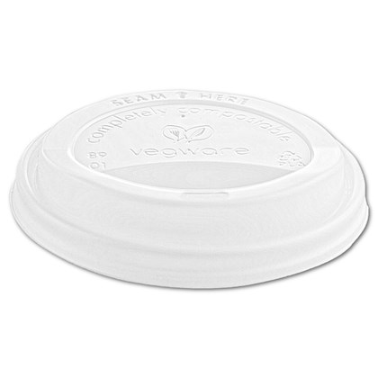 10-20oz CPLA Hot Cup Lid White