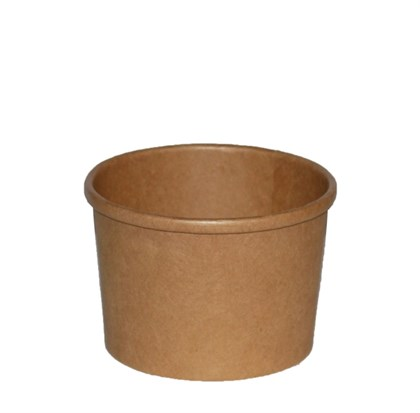 Kraft 8oz PE Lined Soup Container