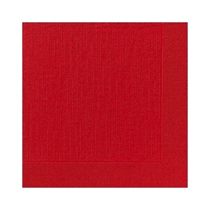 24cm 2ply Red Cocktail Napkin