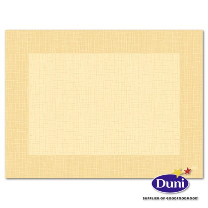 30 x 40cm Dunicel Linnea Cream Placemat