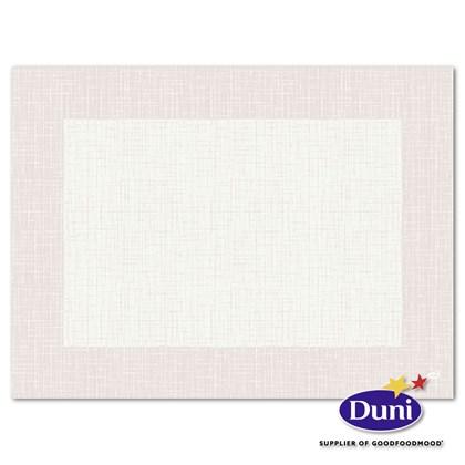 30 x 40cm Dunicel Linnea White Placemat