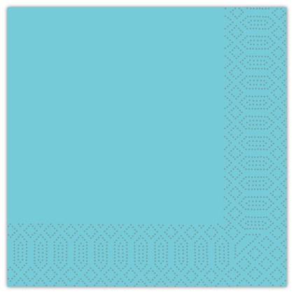 40cm 2ply Napkin Sky Blue