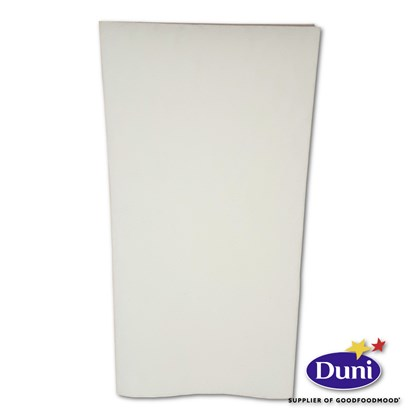 48cm White 8 Fold Dunisoft Napkin