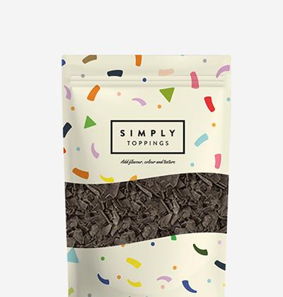 Simply Vegan Dark Chocolate Flakes 4x300g