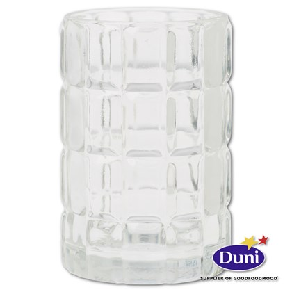 Scacchi Clear Glass Candle Holder