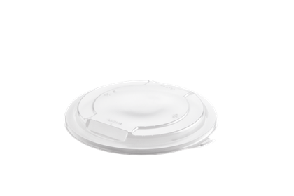 Hot Deli Deluxe Round Clear Lid Qty464