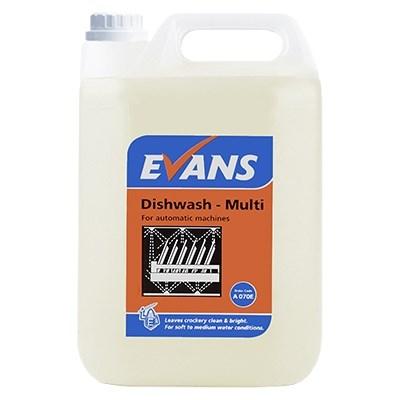 Evans Dishwash Multi 2x5L