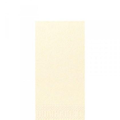 40cm 3ply 8 Fold Cream Napkin